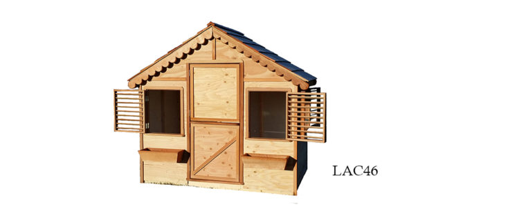 Our playhouses come in many size.